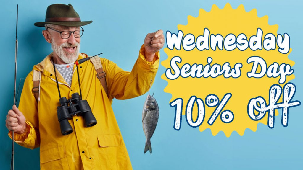 Olde London Fish & Chips Senior Special 10% Off